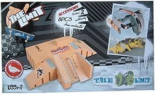 xMxDESiZ Professional Mini Finger Skateboard Jouet en Alliage Skate Park Enfants Jeu de Sport