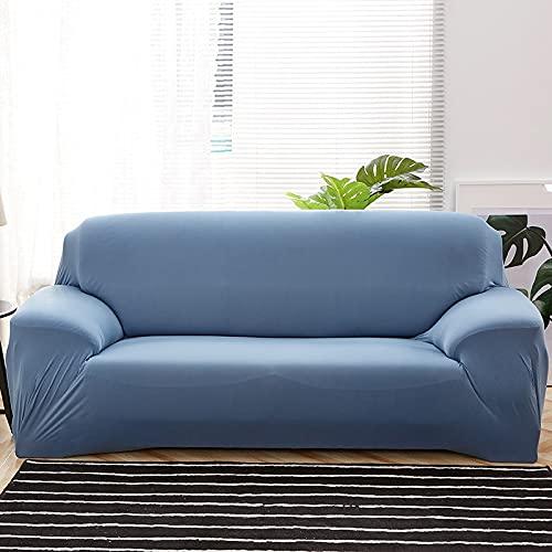 WXQY Funda de sofá Flexible Funda de sofá Todo Incluido Funda de sofá Toalla Funda de sofá Sala de Estar Funda de sofá Antideslizante y a Prueba de Polvo A9 2 plazas