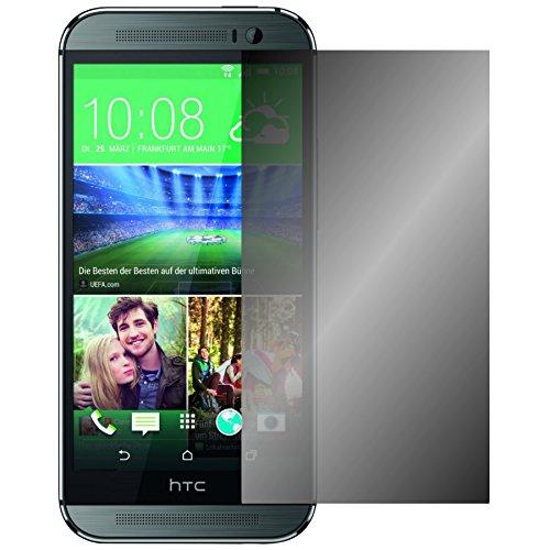 Slabo Blickschutzfolie für HTC One M8 / M8S Sichtschutz Displayschutzfolie