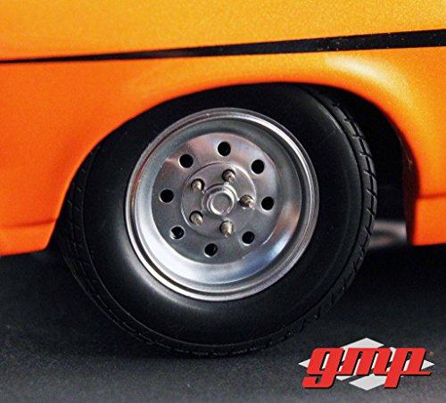 Reifen und Felgen Dragster Wheels (4 Reifen mit Felgen) für 1:18 Modelle / GMP