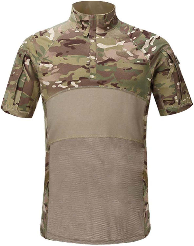 Outdoor Woodland Hunting Shooting US Battle Dress Uniform Tactical BDU Combat Clothing Camouflage Shirt