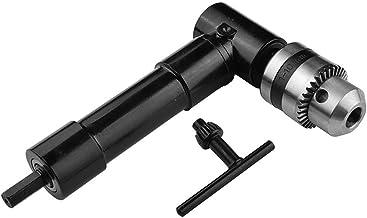 Nuzamas - Portabrocas de extensión de ángulo Recto con Cabeza de Metal de 90 Grados, Adaptador de Broca Hexagonal de 8 mm