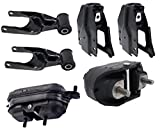 ENA Engine Motor and Trans Mount Set of 6 Compatible with Chevrolet Grand Prix Intrigue 3.8L Compatible with A2796 A5309 A5309 A2866 A2866 A2712
