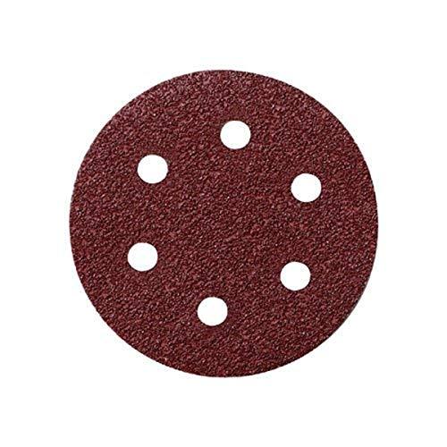 Metabo 624051000 - 25 dischi abrasivi aggrapparsi-fit p40, 25 Pezzi