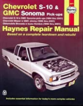 Best chevy s10 service manual Reviews
