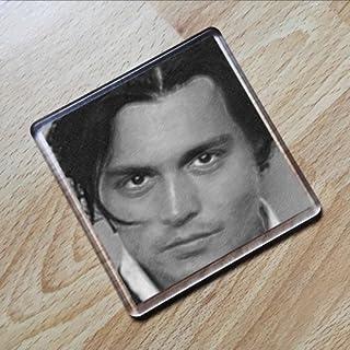 Seasons JOHNNY DEPP - Original Art Coaster #js005