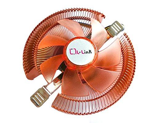 L-link LL-8879 - Ventilador para CPU, Color Naranja
