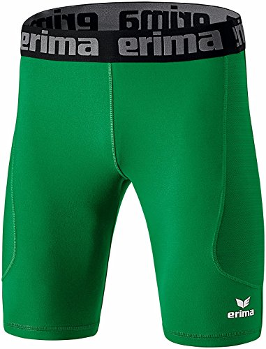Erima Herren Elemental Tight kurz, grün (smaragd), M