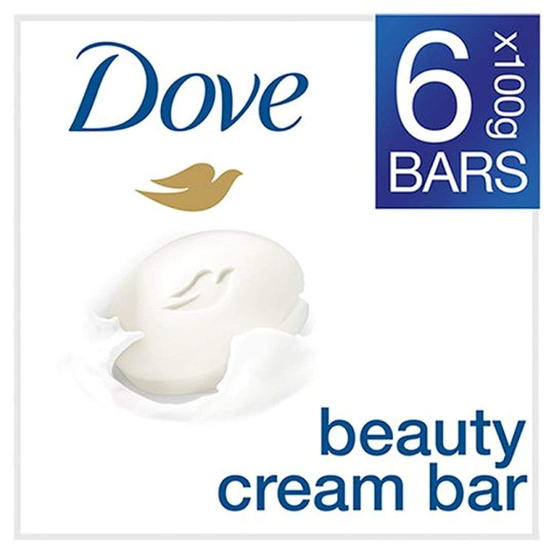 俳句カンガルーストリップ[Dove ] 鳩元固形石鹸6X100G - Dove Original Bar Soap 6X100g [並行輸入品]