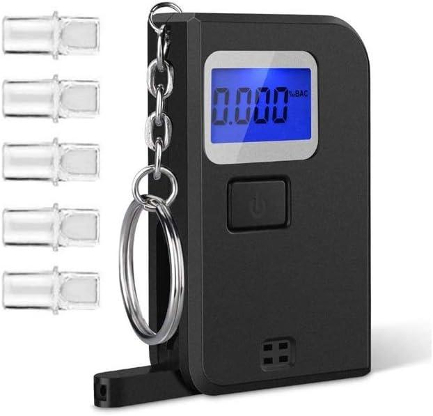 Cheap super special price HIZLJJ Alcohol Regular discount Tests Breathalyzer Digital Porta Screen LED Blue