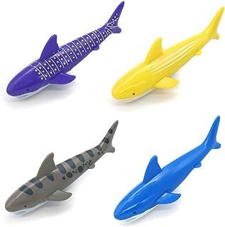 Conjunto Juego Acuático, Juego de Agua Buceo Tiburones Torpedo Juguetes Deportes Acuáticos Niños (4