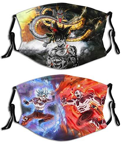 2 unidades de anime Dragon Goku Vegeta con filtro...