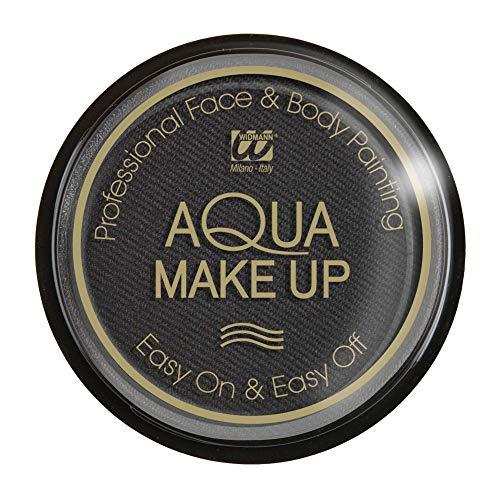 Widmann Video Delta Boîte Maquillage, Aqua Makeup, 30 Grammes, noir
