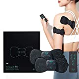 Klug Mini Massager S Duo : Wireless & Portable EMS Massager for Back, Shoulder, Neck Stiffness and Fatigue Relief with 5 Massage Modes & 15 Intensity Levels