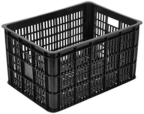 Basil Fahrradkasten Crate, Black, 50 x 36 x 27 cm
