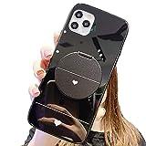 Cas personnalisé for iPhone 11/11 PRO / 11 PRO Max [avec stand de miroir multifonctions],...