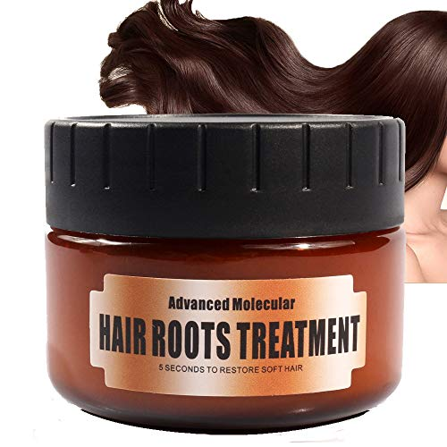 Advanced Molecular Hair Roots Treatment Hydrating Argan Oil Hair Mask and Deep Conditioner Hair Detoxifying Mask Recover Elasticity Hair for Dry or Damaged Hair 60ML