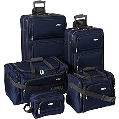 Samsonite Luggage Set - 5-Piece Nested Set, Navy Blue