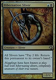 Magic: the Gathering - Hibernation Sliver - Premium Deck Series: Slivers - Foil