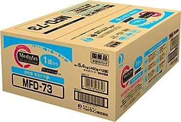 メディファス 室内猫 毛玉ケアプラス 1歳から チキン&フィッシュ味 5.4kg(450gx12)