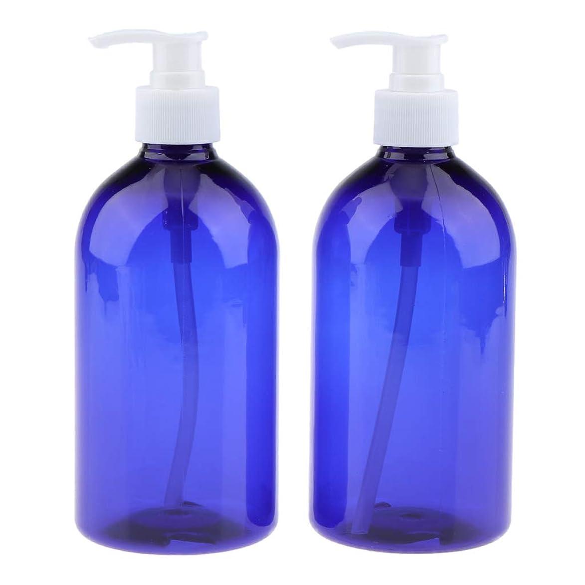 レガシー無許可廊下F Fityle 2個 ポンプボトル 大容量 コスメ ローション 詰替え容器 2色選べ  - 白