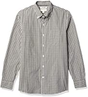 Marca Amazon - Goodthreads Slim-fit Long-Sleeve Solid Poplin Shirt Hombre