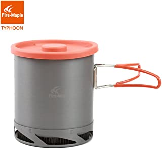 Fire Maple FMC-XK6 1L Portable Heat Collecting Exchanger Pot Anodized Aluminum Outdoor Camping Picnic Pot Cookware Cup