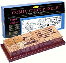 Family Games 3-D Comic Cube Puzzle Featuring Frank and Ernest Comic Strip
