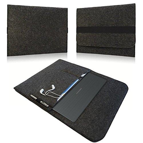 NAUC Sleeve Cover Hülle für Medion Erazer P7648 Tasche Hülle Laptop Notebook Filz