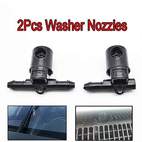 Xukey 2pcs Boquillas para limpiaparabrisas delanteros para Insignia A Astra J G Combo C Corsa C Tigra B Zafira A
