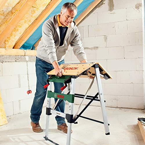 Bosch Arbeitstisch (mit 4x Spannbacken, Karton, max. Tragfähigkeit: 200 kg) PWB 600 - 6