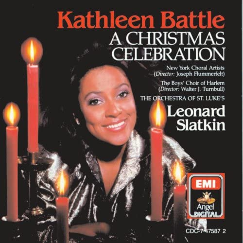 Kathleen Battle, Leonard Slatkin, Boys Choir Of Harlem, Orchestra Of St. Lukes & New York Choral Artists