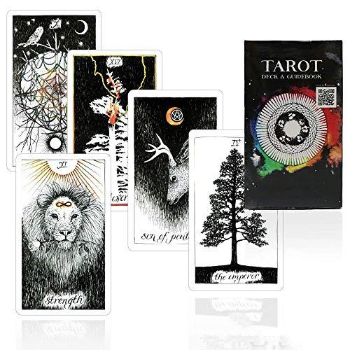 LINANNAN wild unbekannter Tarot-Deck Schönes Master-Grade-Design - eBook zum...
