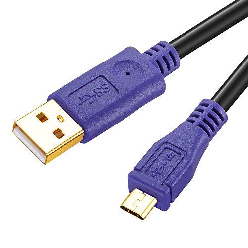 Micro USB ケーブル マイクロ スマホ用&テレビゲーム専用 充電ケーブル/長距離自由に使え/PS4/XBOX one/PSV 2005/他の各器械アンドロイドAndroid USBに対応 8m ブラッグ