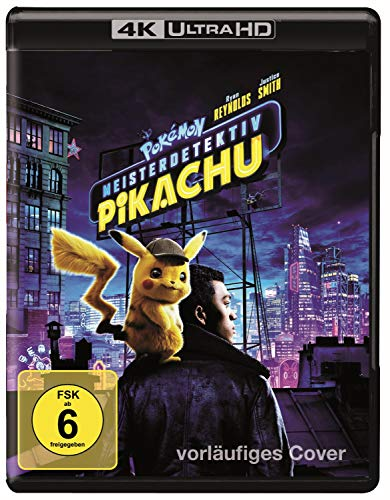 Pokemon Meisterdetektiv Pikachu  (4K Ultra HD) (+ Blu-ray 2D) [Alemania] [Blu-ray]