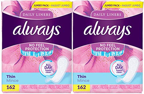 always incredibly thin liners - 5