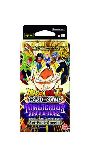 """Dragon Ball Super Card Game - Set especial serie 8 """"Malicious Machinations"""", versión francesa SP08"""