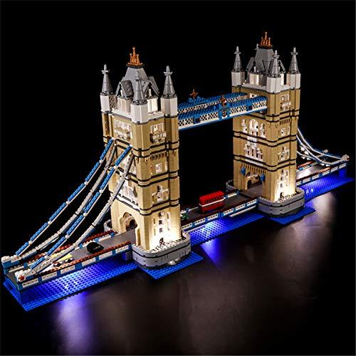 ZHLY LED Licht-Set für Lego Creator Tower Bridge Beleuchtung Lichtset Kompatibel Mit Lego 10214 USB und...