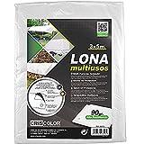 Criscolor Lona Multiuso 3 x 5 m Blanca, '41312