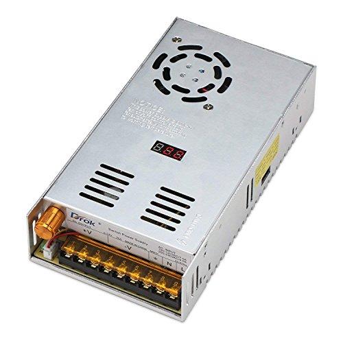 Droking de AC DC Digital Fuente de Alimentación AC 110–220V/DC 0–24V 20A Interruptor de Corriente 480W Detector de Tensión Ajustable regulierte Alimentación Ventilador Integrado