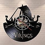 Tbqevc Reloj de Pared de Vinilo para decoración de Pared, Reloj...