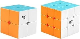 Coogam Qiyi Speed Cube Bundle 2×2 3×3 Magic Cube Set Qidi s 2×2 Warrior W..