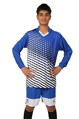 Triumph Soccer Goalie Set Size-L Blue