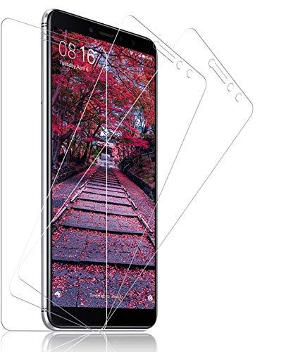 SNUNGPHIR® Xiaomi Redmi S2 Cristal Templado Protector de Pantalla para Xiaomi Redmi S2 Alta Claridad 9H Dureza Anti-Rasguños Anti-Huellas Dactilares Libre de Burbujas Protección Ojos [3pcs]