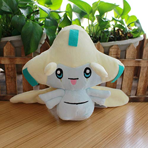 Kioiien 30 cm Juguetes de Peluche Kawaii jirachi Figuras de Anime marioneta algodón Anime Peluche Juguete Lindo Suave muñeca decoración niños niños Regalos cumpleaños