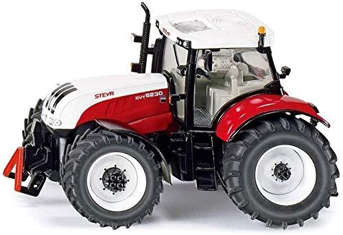 Tractores Steyr Modelo de Coche de niño de Coches de Juguete de aleación Modelo de Coche Harvester Modelo Accesorios Escena