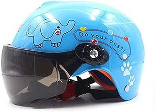 Kinder Junge M/ädchen Motorradhelme Winter Winddicht Warm Cartoon Schutzhelm FidgetFidget Motorradhelm Schwarz
