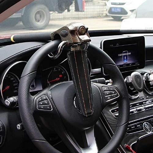 Riloer - Antifurto per volante, universale, con 3 chiavi