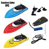 WERTAZ Rc Boat Ferngesteuertes Boot für Pools Und Seen Hochgeschwindigkeitsfernboot Spielzeug für Kinder