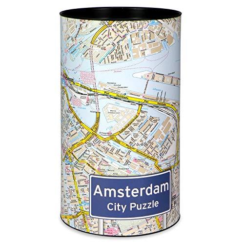 Extragoods City Puzzle Amsterdam Premiumpuzzle Erwachsenenpuzzle Spiele Puzzle Städtepuzzle
